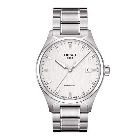 Tissot Men's T0604071103100 'T-Tempo' Stainless Steel Automatic Classic Watch