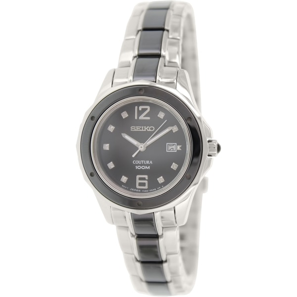 Seiko Women's 'Coutura' Two-tone Stainless Steel Watch
