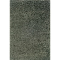 Indoor Blue/ Blue Shag Area Rug - 9'10 x 12'7