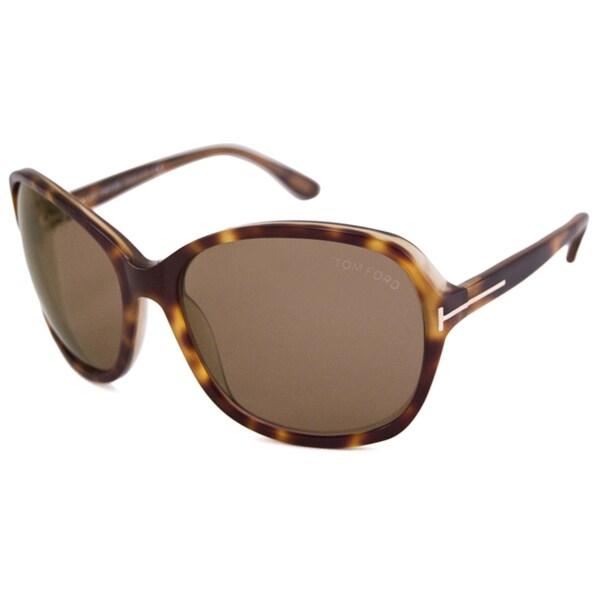 Tom Ford Women's TF0186 Sheila Square Sunglasses