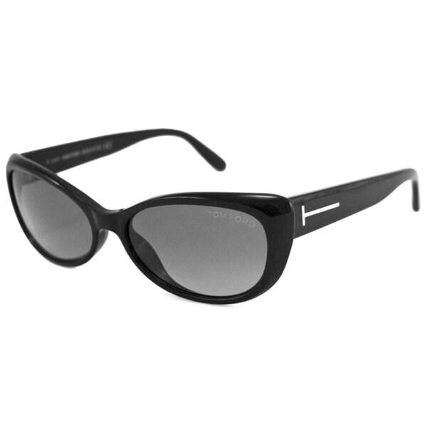 Tom Ford Women's Black TF0232 Sebastian Cat-Eye Sunglasses