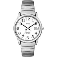 Timex  Men's Easy Reader Silvertone Expansion Band Watch