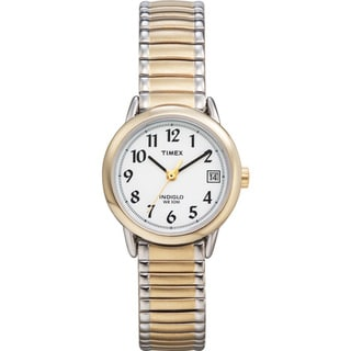 Timex T2H4919J Women's Easy Reader Two-tone Steel Expansion Band Watch