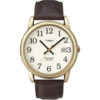 Timex T2N3699J Men's Easy Reader Brown Leather Strap Watch|https://ak1.ostkcdn.com/images/products/7723657/7723657/Timex-Mens-Easy-Reader-Brown-Leather-Strap-Watch-P15126279.jpg?impolicy=medium