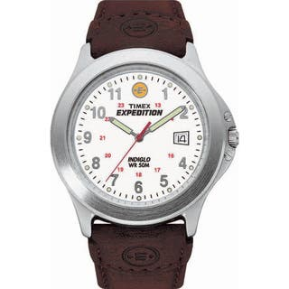 Timex T443819J Men's Expedition Metal Field Brown Leather Strap Watch|https://ak1.ostkcdn.com/images/products/7723661/7723661/Timex-Mens-Expedition-Metal-Field-Brown-Leather-Strap-Watch-P15126283.jpg?impolicy=medium