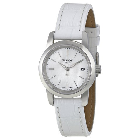 Tissot Women's T0332101611100 'Classic Dream' Mother of Pearl Watch