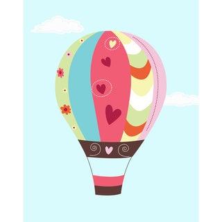 Hot Air Balloon Print Art Print