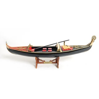 Old Modern Handicrafts Venetian Gondola Model Boat
