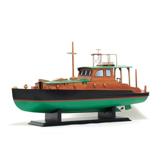 Old Modern Handicrafts Hemingway Pilar Boat Model Boat