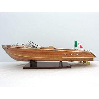 Old Modern Handicrafts Riva Aquarama Medium Model Boat