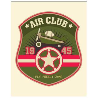 Pilot Badge Art Print