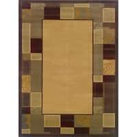 Indoor Beige/ Brown Area Rug