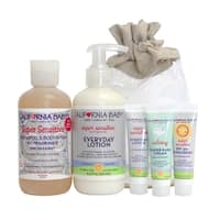California Baby Super Sensitive Newborn Tote 5-piece Gift Set