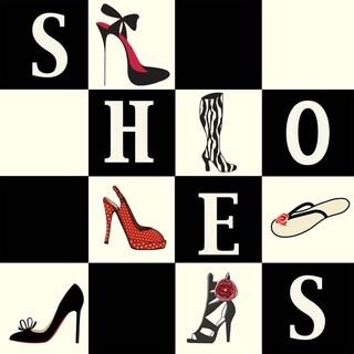 Shoes Shoes Shoes Art Print