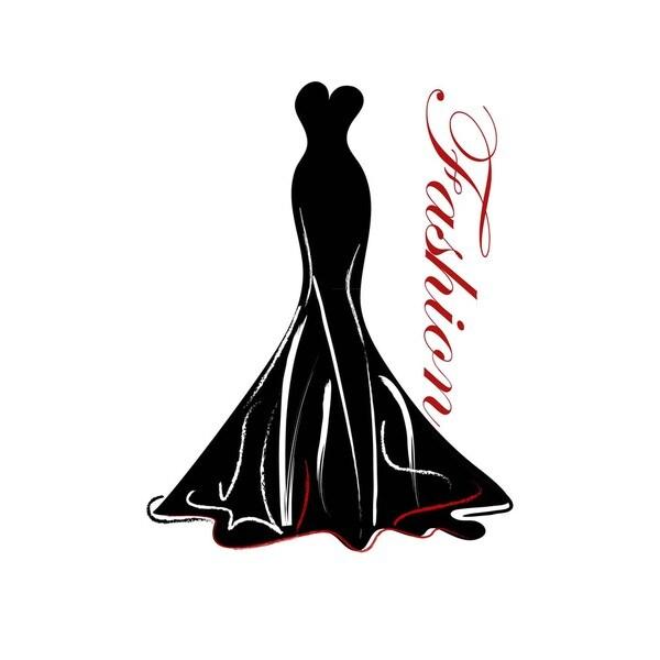 Fashion Gown Art Print