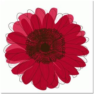 Single Flower- Red Art Print