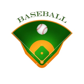 Secretly Designed 'Baseball Field' Art Print