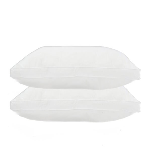Home Accents Twill Feather Gusseted Jumbo-size Pillow (Set of 2)