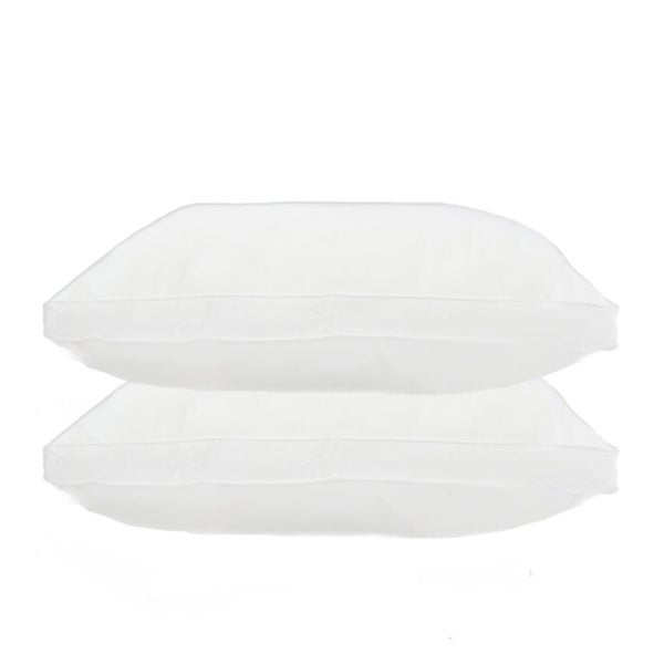 Home Accents Twill Gusseted Down Alternative Jumbo-size Pillow (Set of 2)