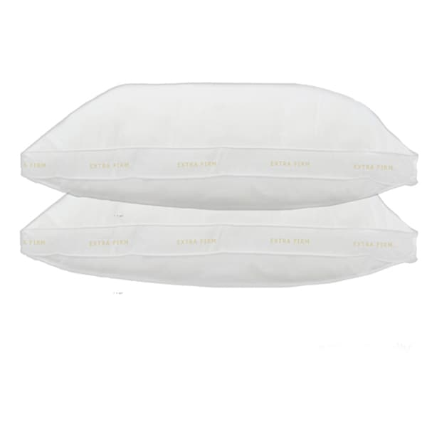Home Accents Gusseted Extra Firm Feather Standard-size Pillow (Set of 2)
