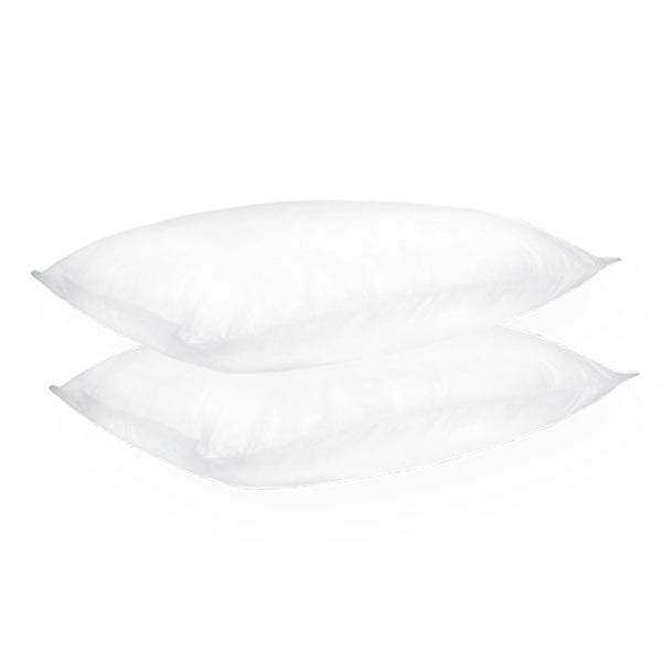Home Accents Medium Support Density Jumbo-size Feather Pillow (Set of 2)