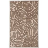Pine Canopy Bogs Mountain Leaf Wool Area Rug - 9' x 13'