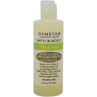 Demeter Gin & Tonic Happily Foaming 4-ounce Bath & Shower Gel