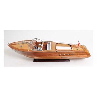 Old Modern Handicrafts Riva Aquarama Exclusive Edition Model Boat