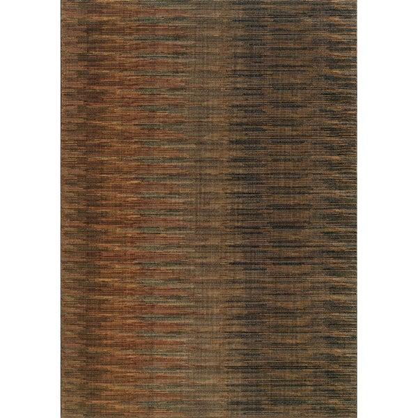 Indoor Brown/ Rust Area Rug (7'8 x 10'10)