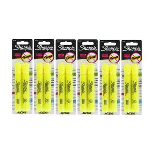 Sharpie Flourescent Yellow Chisel Tip Highlighters
