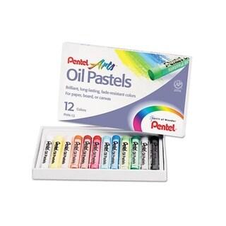 Pentel Oil Pastel 12-color Set