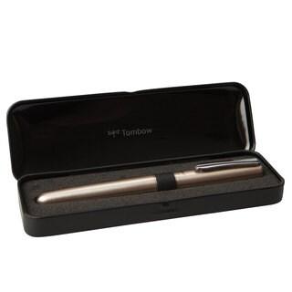 Tombow Zoom 505 bw Brushed Chrome Premium Design Roller Ball Pen