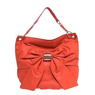Bueno Women's 'Sophia' Bow Front Shoulder Bag
