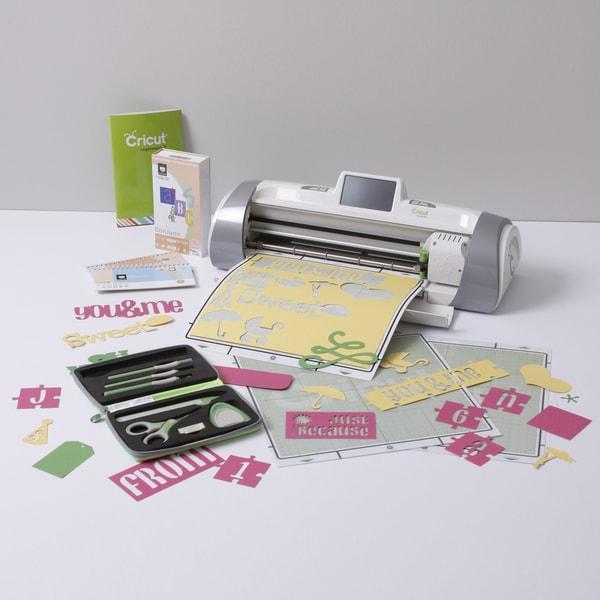 Cricut Expression 2 Bundle w/ Extra Cartridge, Tool Kit and Mats
