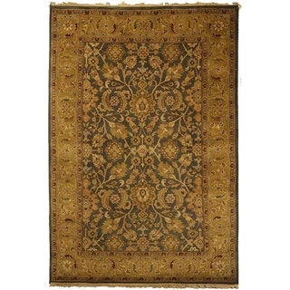 Safavieh Hand-knotted Dynasty Apricot Wool Rug (6' x 9')