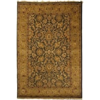 Safavieh Hand-knotted Dynasty Apricot Wool Rug - 6' x 9'