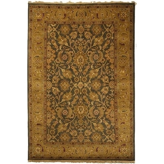 Safavieh Hand-knotted Dynasty Apricot Wool Rug (9' x 12')