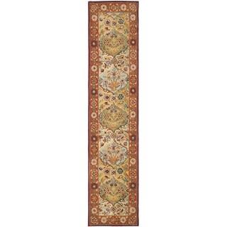 Safavieh Handmade Heritage Traditional Bakhtiari Multi/ Red Wool Runner (2'3 x 22')
