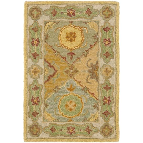 Safavieh Handmade Heritage Traditional Bakhtiari Multi/ Ivory Wool Rug (2'3 x 4')