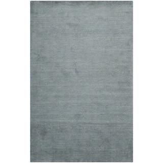Safavieh Handmade Himalaya Solid Blue Wool Area Rug (10' x 14')