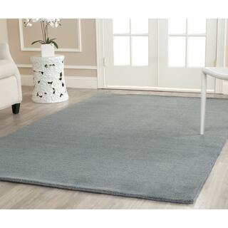 Safavieh Handmade Himalaya Solid Blue Wool Area Rug (8' 9 x 12')|https://ak1.ostkcdn.com/images/products/7725003/P15127273.jpg?impolicy=medium