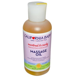 California Baby Overtired & Cranky 4.5-ounce Massage Oil