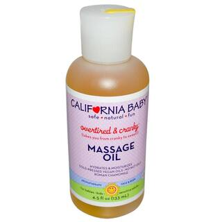 California Baby Overtired & Cranky 4.5-ounce Massage Oil|https://ak1.ostkcdn.com/images/products/7725081/P15127331.jpg?impolicy=medium