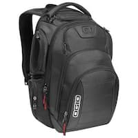 OGIO Black Gambit 17-inch Laptop Backpack