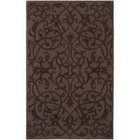 Safavieh Handmade Irongate Brown New Zealand Wool Rug - 8'3 x 11'