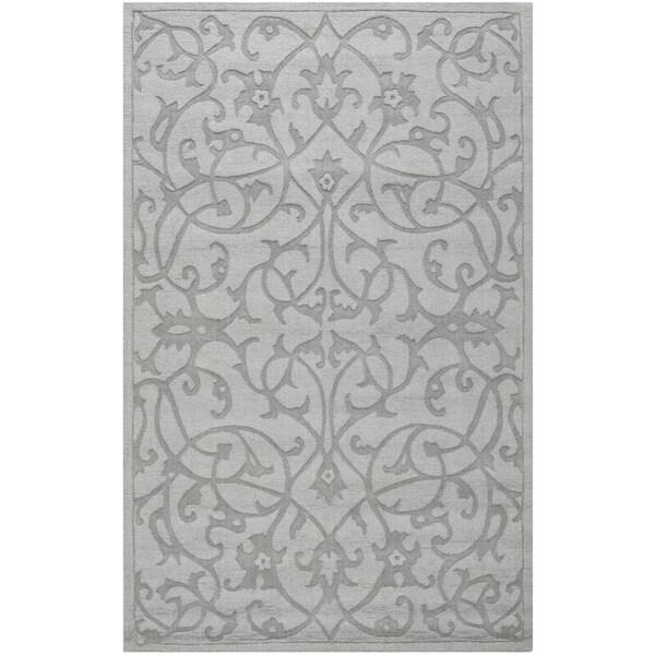 Safavieh Handmade Irongate Grey New Zealand Wool Rug (4' x 6')