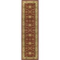 "Safavieh Lyndhurst Traditional Oriental Red/ Ivory Rug - 2'3"" x 22'"