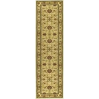 Safavieh Lyndhurst Traditional Oriental Ivory/ Ivory Rug (2'3 x 22')