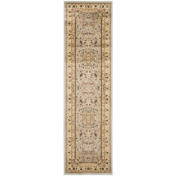 Safavieh Lyndhurst Traditional Oriental Grey/ Beige Rug (2'3 x 14')