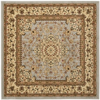 Safavieh Lyndhurst Traditional Oriental Grey/ Beige Rug (5' Square)